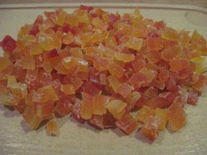 Приготовление цукатов