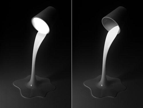 Налей мне свет: необычная настольная лампа