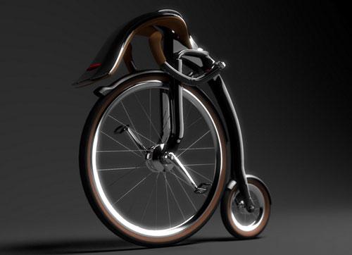 Новый велосипед ONEYBIKE на старинный лад от Peter Varga