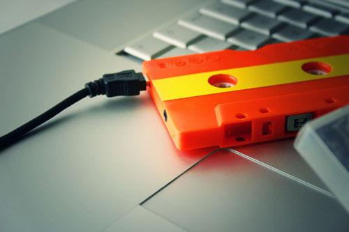 Музыкальное дежавю — MP3-плеер в виде аудиокассеты