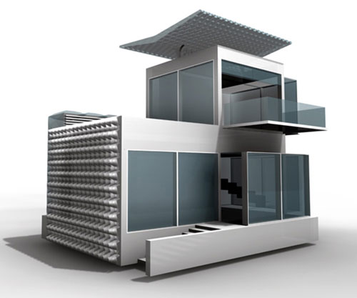 Полностью автономный дом будущего