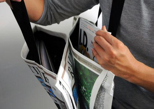 Газета против дождя