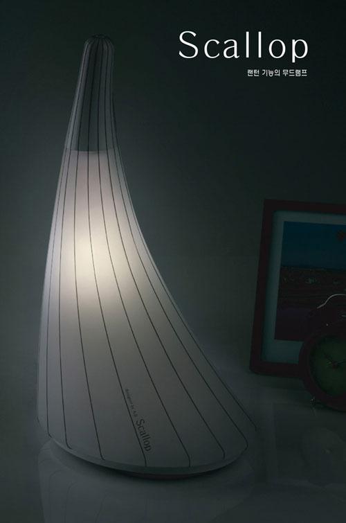 Напольный светильник с фонариком
