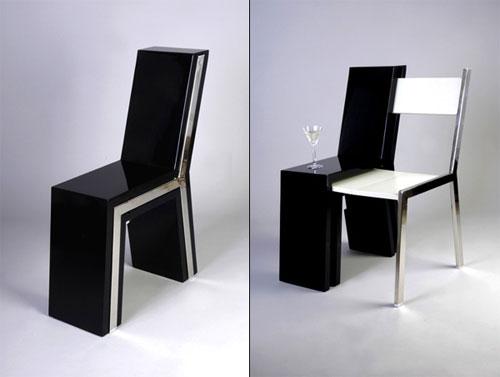 Стул и столик — два в одном