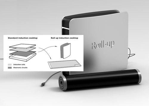 Портативная индукционная печь Roll-Up
