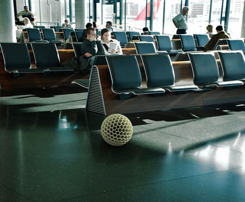 Робот-пылесос в виде мяча