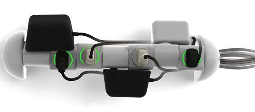 Сетевой фильтр с вращающимися розетками