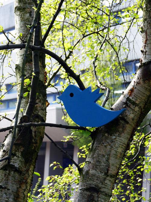 Твиттер-скамейка