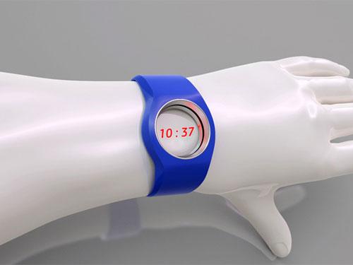 Лазерные наручные часы