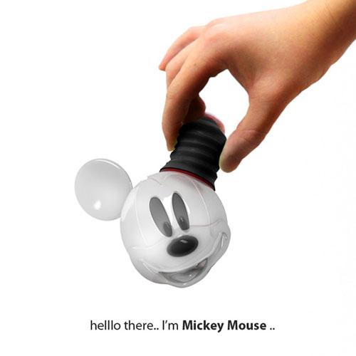 Микки-лампа