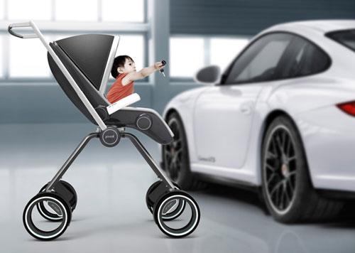 Детская коляска от Porsche
