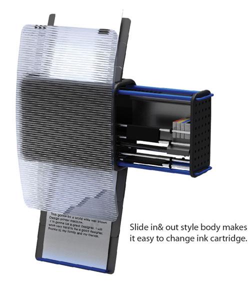 Висячий принтер