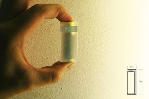 Батарейка с индикатором