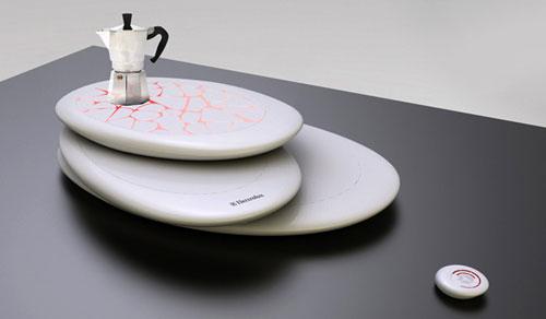 Настольная индукционная плита с дистанционным управлением