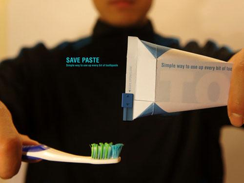 Бумажный Тетра Пак для зубной пасты