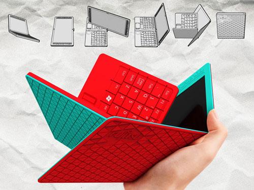 Резиновый ноутбук