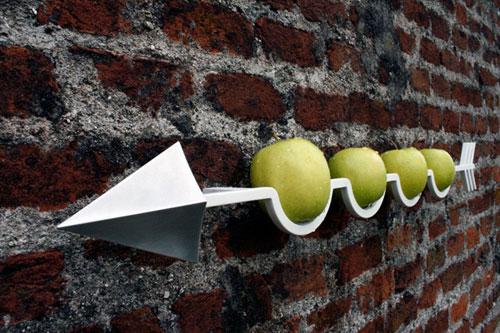 Стрела с яблоками