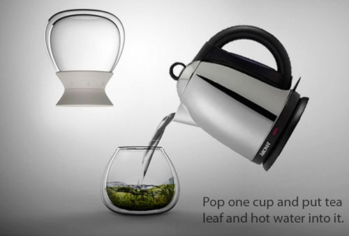 Чайник с таймером