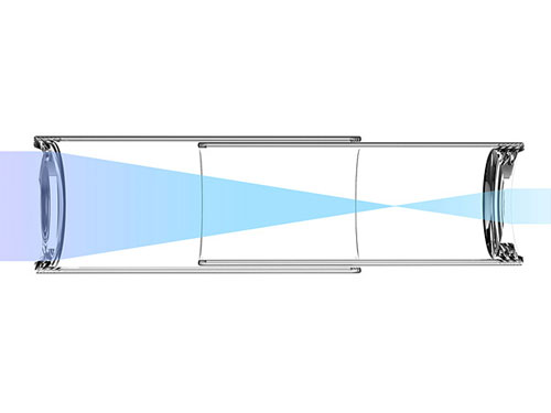 Стакан-подзорная труба