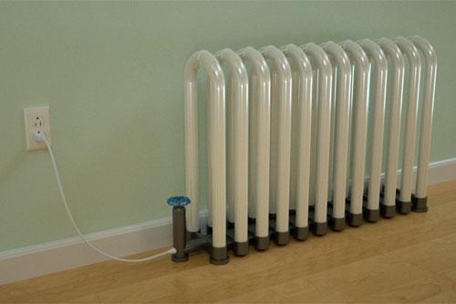 Радиатор отопления или осветительный прибор?