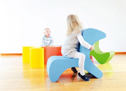 Flip — причудливый стул для детей