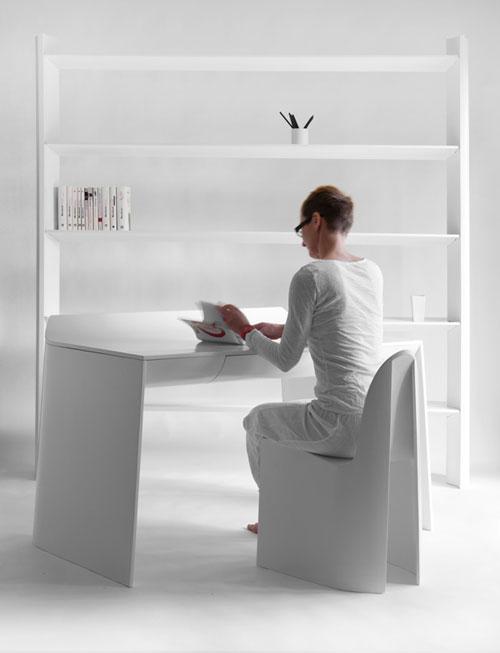 Ну очень белая мебель