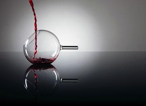 Необычный бокал для вина