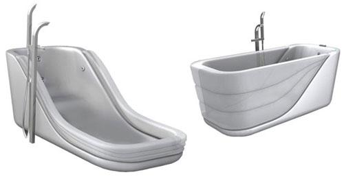 Надувная ванна для ленивых