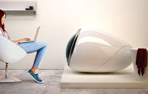 Ovum: футуристичная стиральная машина
