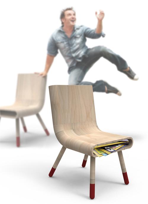 Антикризисная мебель, или Стул-копилка