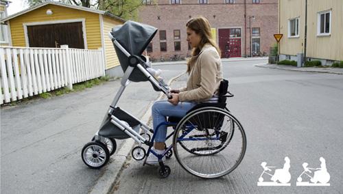 Фото Две коляски