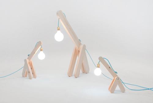 GIFU: дикая лампа