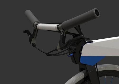 Городской велосипед в стиле оригами