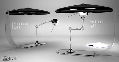 Лампа с раздвоением личности