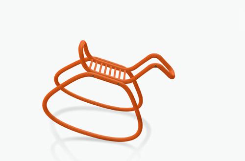 Современная лошадка-качалка