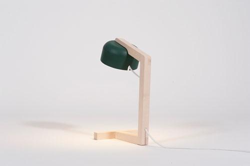 Настольная лампа из Дании