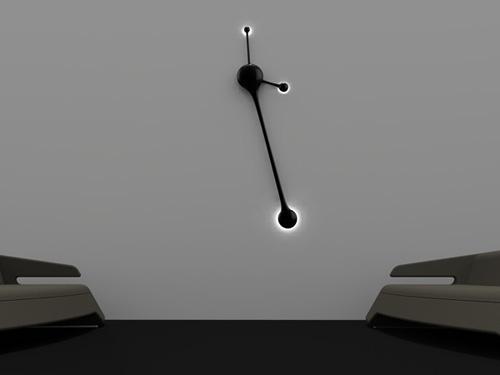 Современные часы с маятником