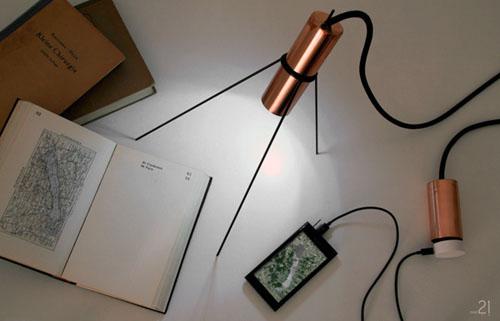 Удобная лампа