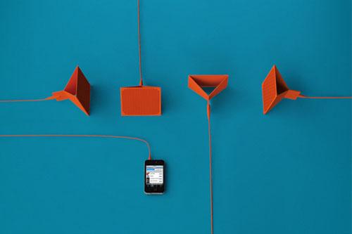 FYLM: складная акустика для мобильного телефона