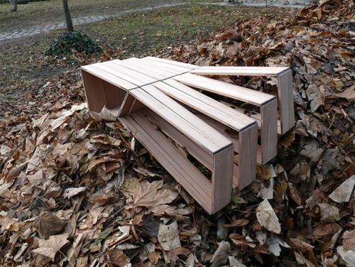 Адаптивная скамейка
