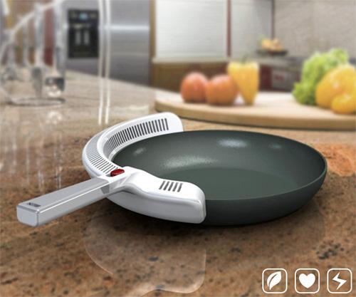 Сковородка с вытяжкой