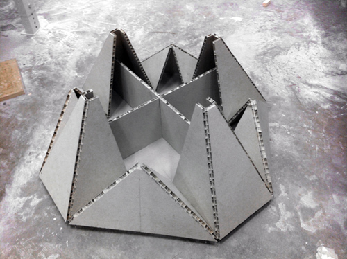 Стол-оригами