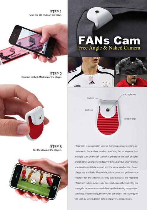 Видеокамера для футбольного фаната