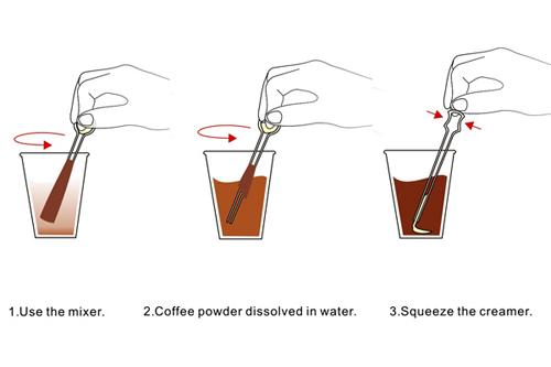 Волшебная ложка: кофе и сливки внутри