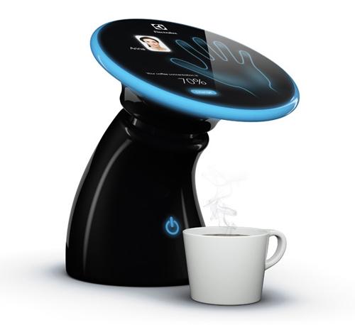 Электронный бариста: кофе по отпечатку ладони