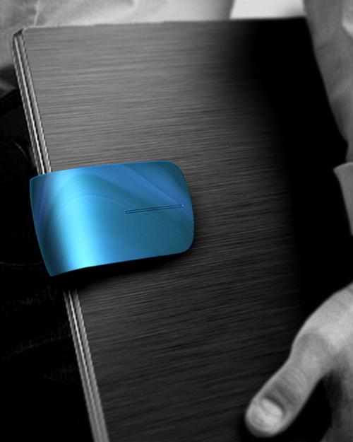 Clipmouse: мышь-клипса для ноутбука