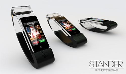 Stander iPhone: док-станция для iPhone