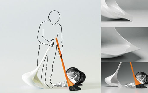 Roly-poly Cleaner: веник-неваляшка
