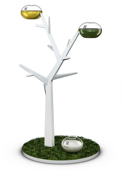 Electrolux Treat: дерево с едой