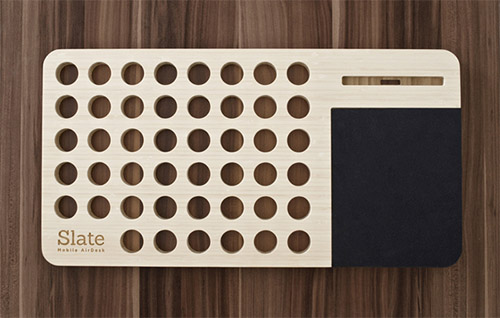 Slate: мобильная подставка под ноутбук